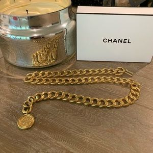 Auth CHANEL Gold Chain Belt/Necklace/Bracelet